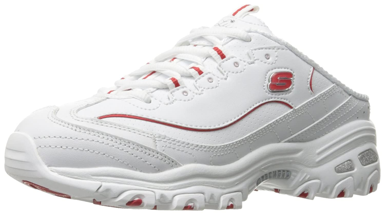 Skechers レディース B01LX3YAGW 7.5 B(M) US ホワイト/レッド ホワイト/レッド 7.5 B(M) US