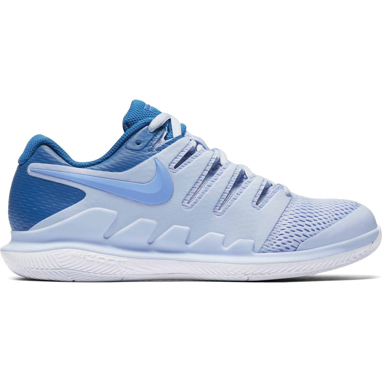 NIKE Women's Air Zoom Vapor X HC Tennis Shoes B078BBLKDG 7 B(M) US|Royal Tint/Monarch Purple/Royal Pulse/White