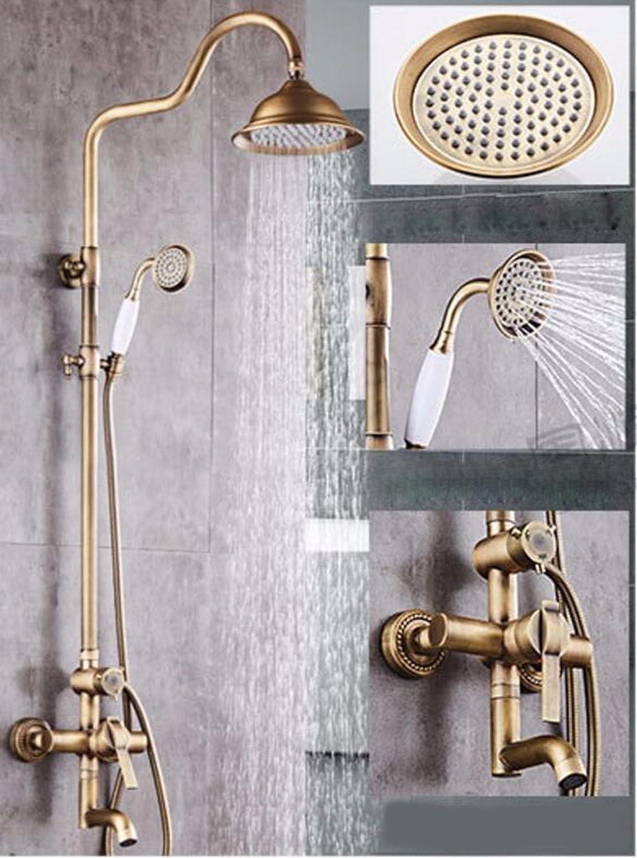 A SJQKA shower set European Style Archaize Full Copper Shower Shower Shower Shower Shower Shower Shower Suit,A