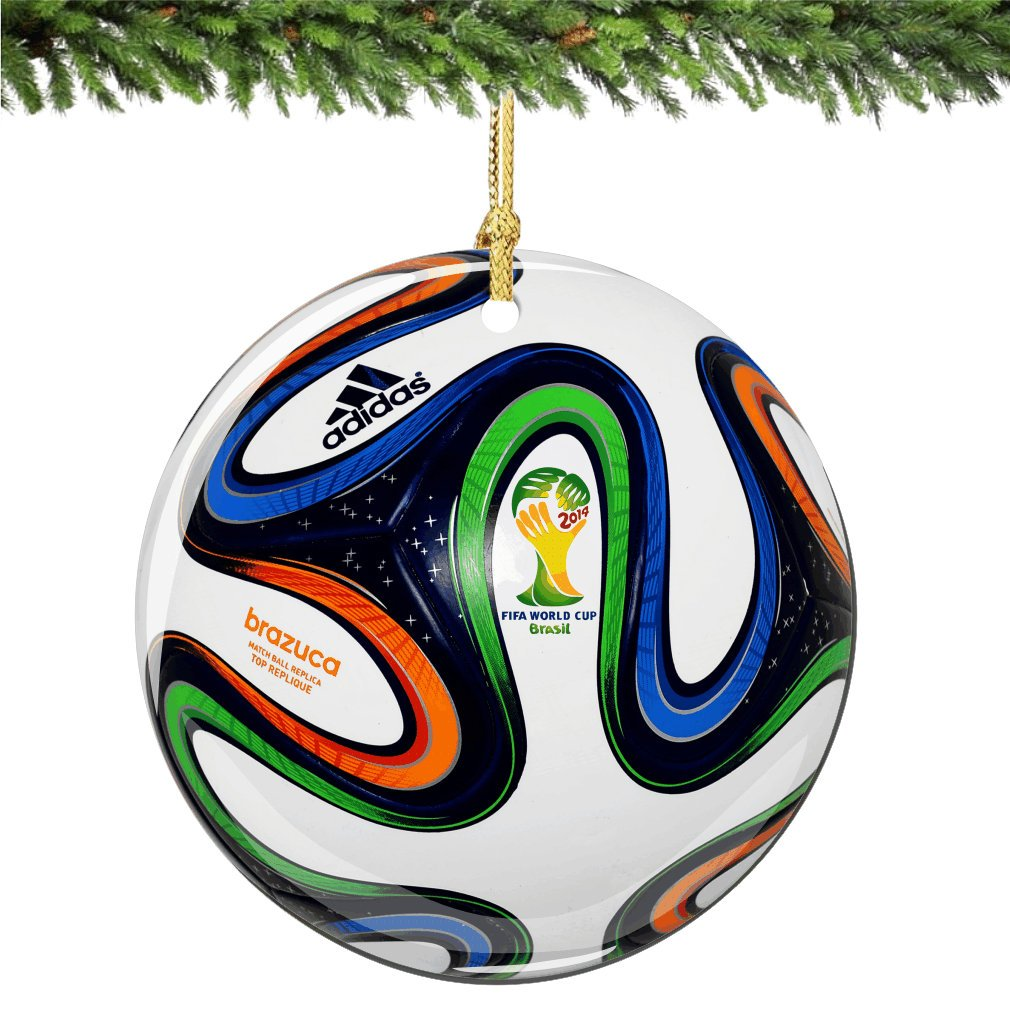 Amazon: World Cup Christmas Ornament, 275 Inches, Porcelain Double  Sided Ornaments: Home & Kitchen
