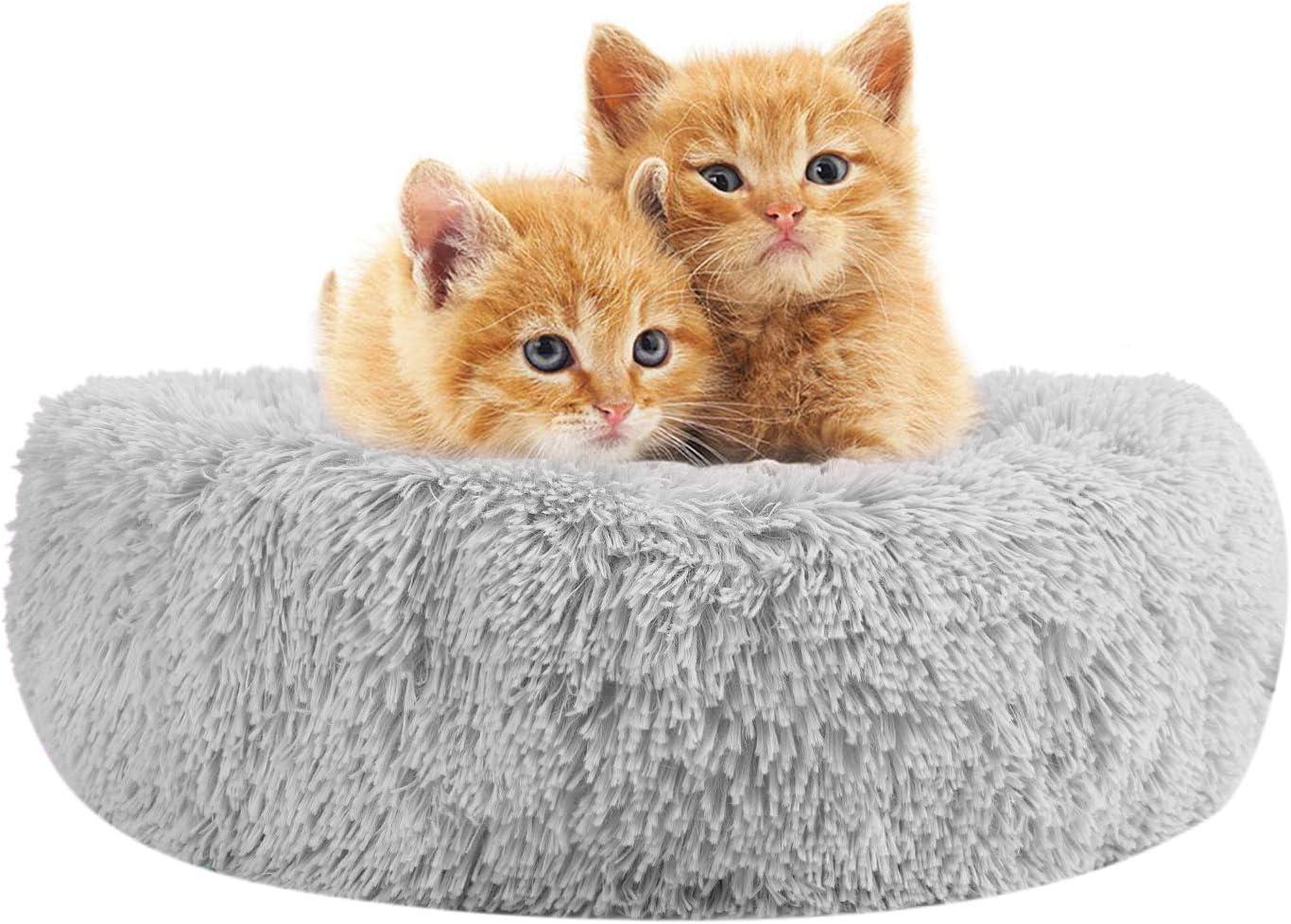 Cojín para perro, gato, de peluche suave, cálido, caseta pequeña, tamaño mediano, animal de compañía, cama, cama, colchón, cachorro, gato, sofá interior, bolsa de dormir