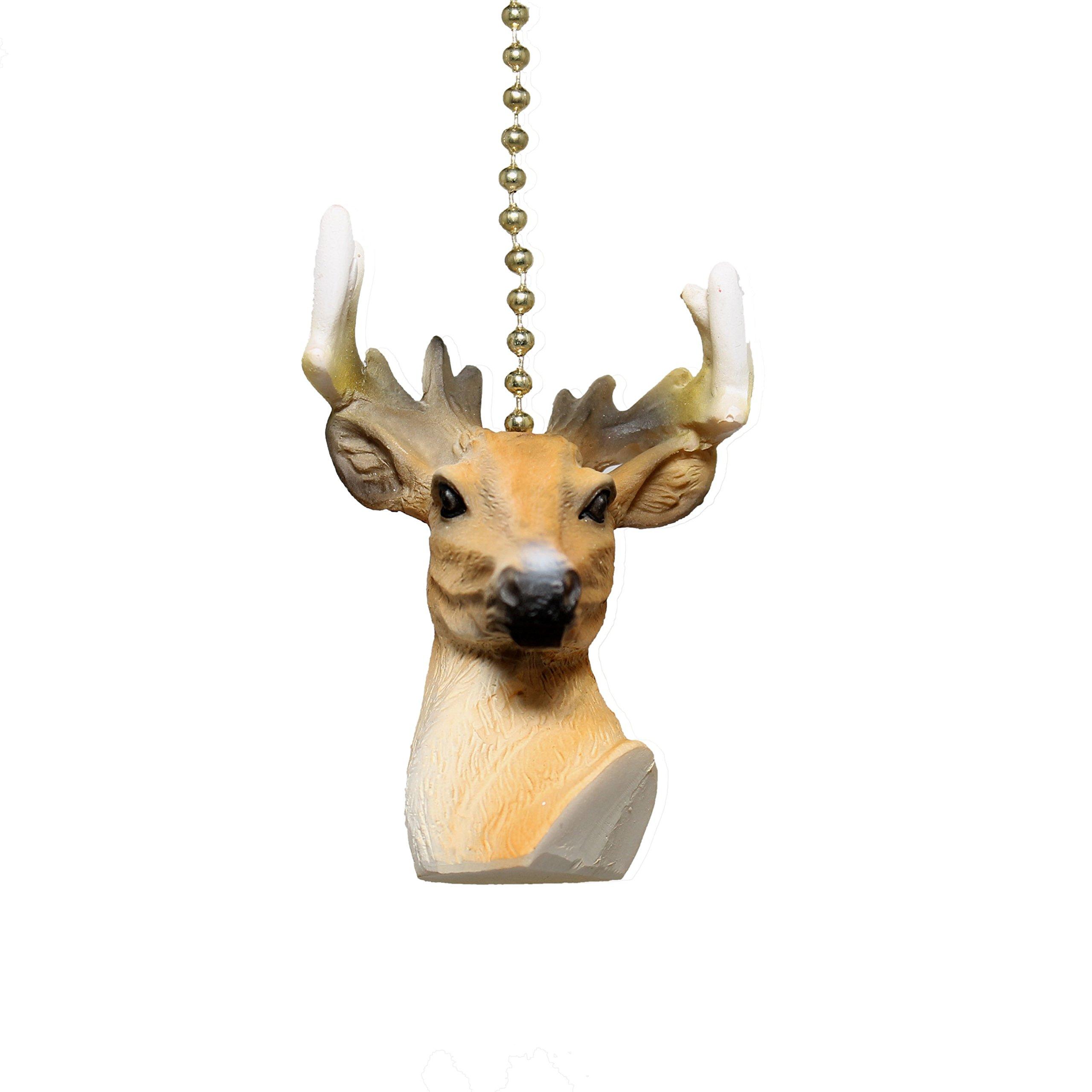fan ideas ceiling decorating best deer home log antler fixtures of fine lighting