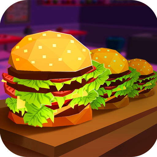 Street Fast Food Restaurant Mania: Your Own Tasty Burger Making Café | World Cooking Master - Food Freshest