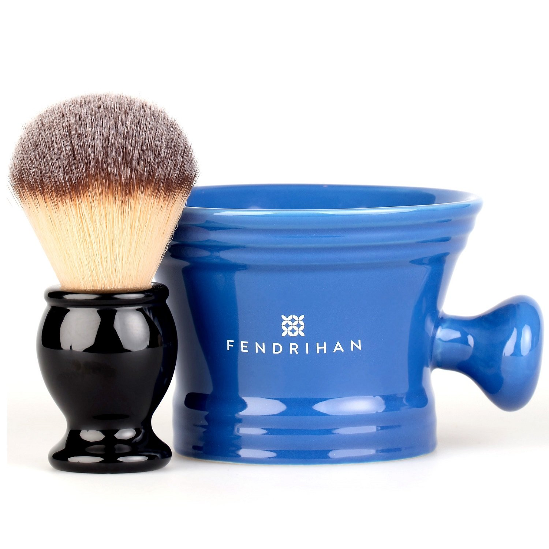 Amazoncom Fendrihan Synthetic Shaving Brush And Colorful Moderno