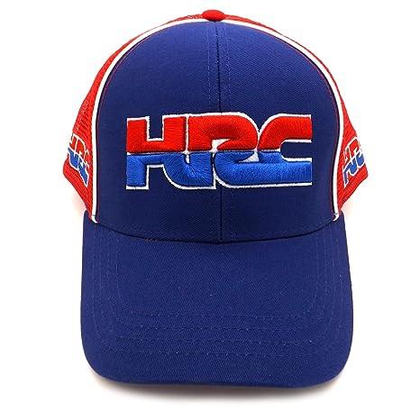 Honda HRC Moto GP Team Large Logo blanco Gorra Oficial 2017