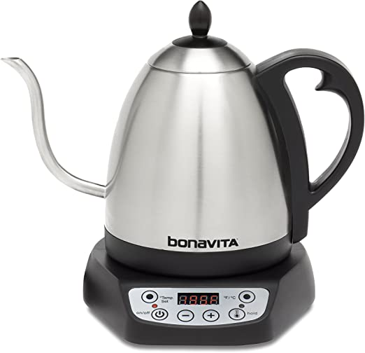 Bonavita BV382510V 1.0L Variable Temperature Gooseneck Kettle