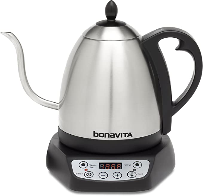 Bonavita Bv382510v Electric Tea Kettle With Temperature Settings