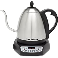 Bonavita Tetera de temperatura variable, Metálico, 1.0 Liters, 1, 1