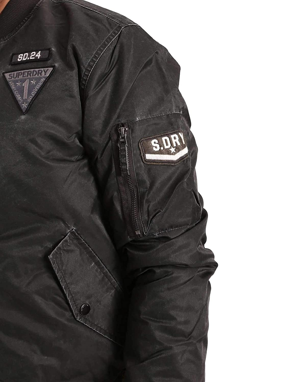 e7a3e261d7f7 VESTE SUPERDRY LIMITED EDITION FLIGHT BOMBER  Amazon.fr  Vêtements et  accessoires