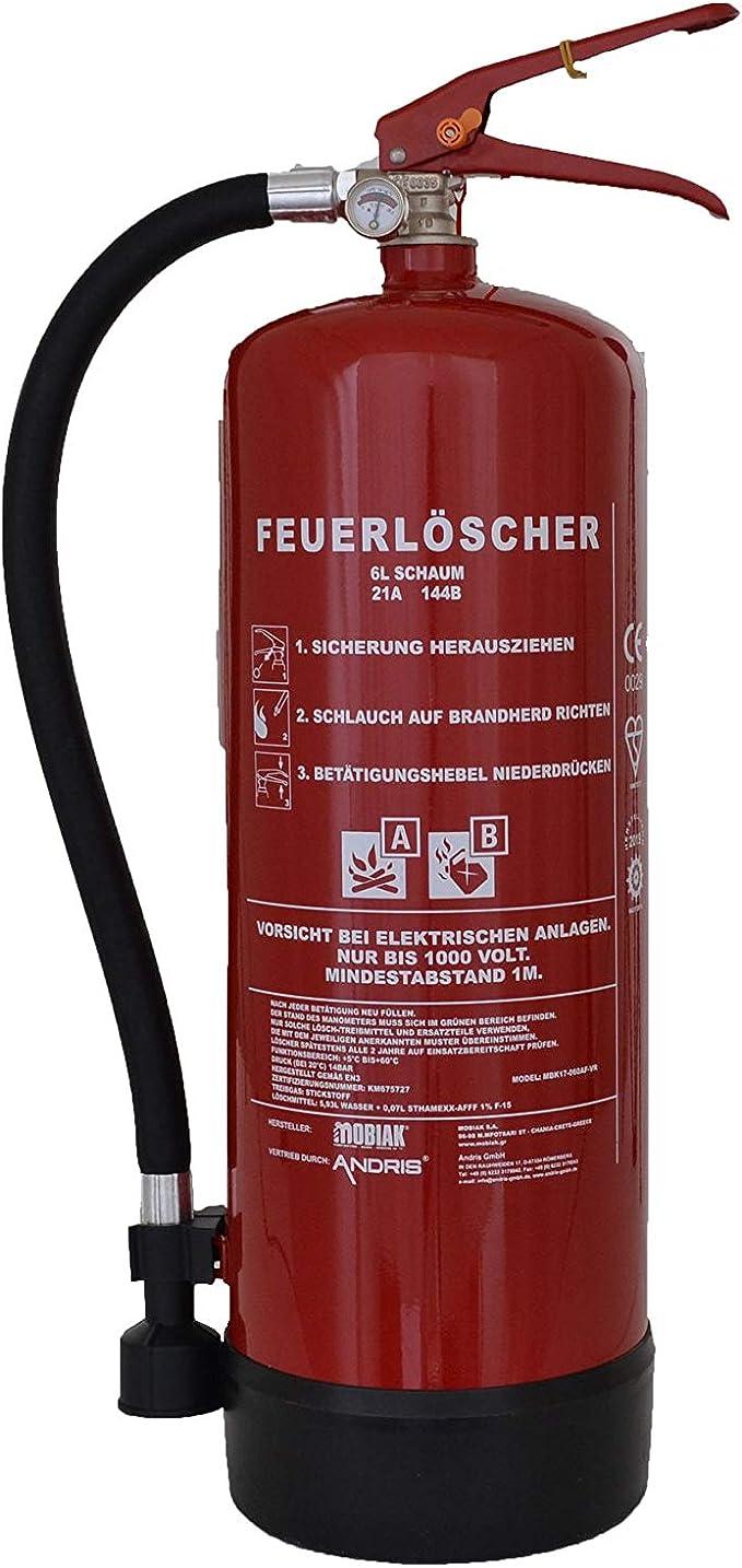 Feuerlöscher Automatik 6 KG A Regenjacke Marke Osculati 31.515.05