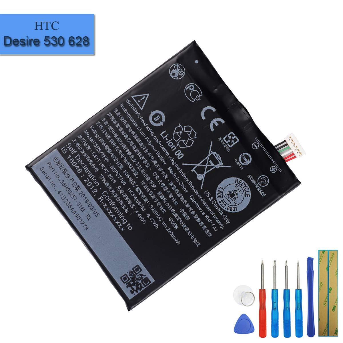 Bateria : Htc Desire 530 / Desire 628 / 630 / 650 B2pst100