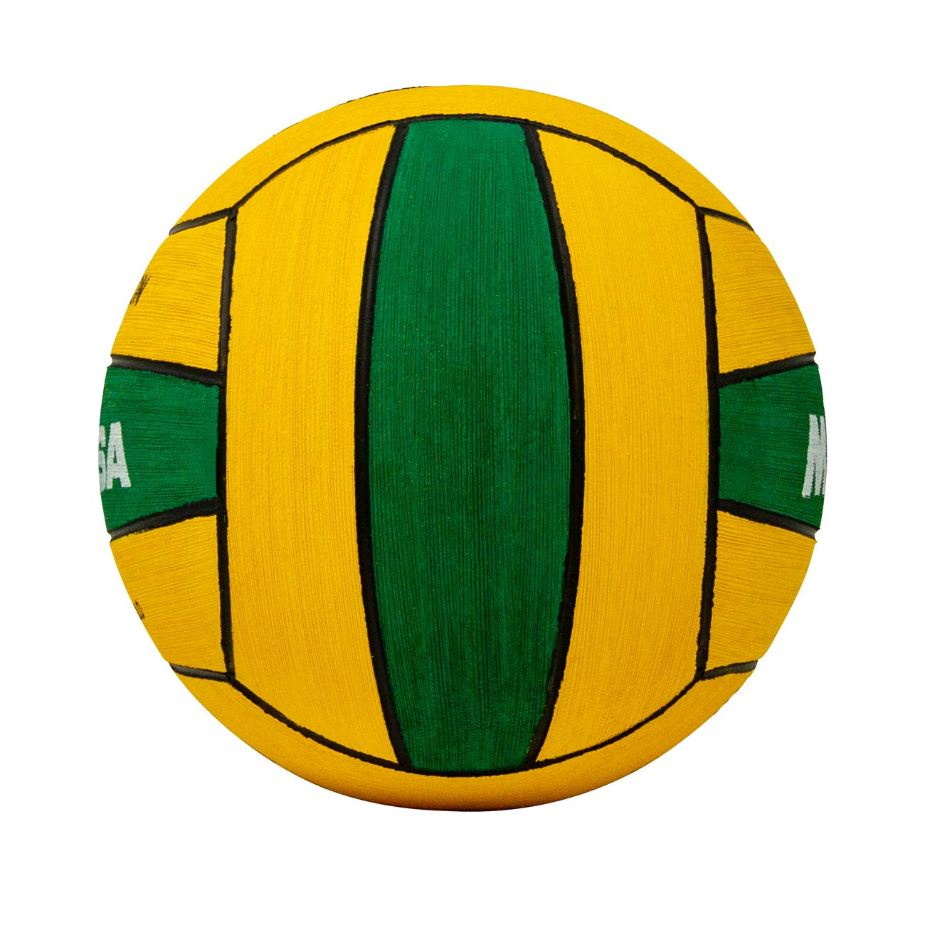 Amazon.com : Mikasa W5009GRE Competition Game Ball, Green/Yellow, Size 4 : Sports & Outdoors