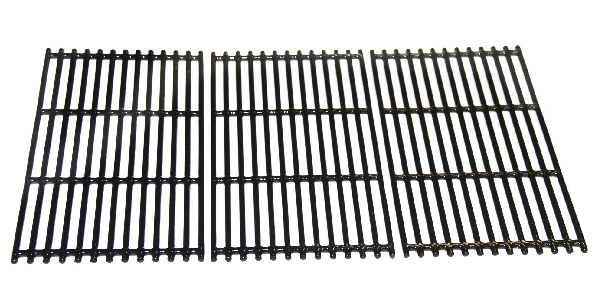 VICOOL hyG937C Glossy Porcelain Coated Cast Iron Cooking Grid Grates for Charbroil 463242715, 463242716, 463276016, 466242715, 466242815 Gas Grills, G533-0009-W1, Lowe's #606682, Walmart #555179228 by VICOOL