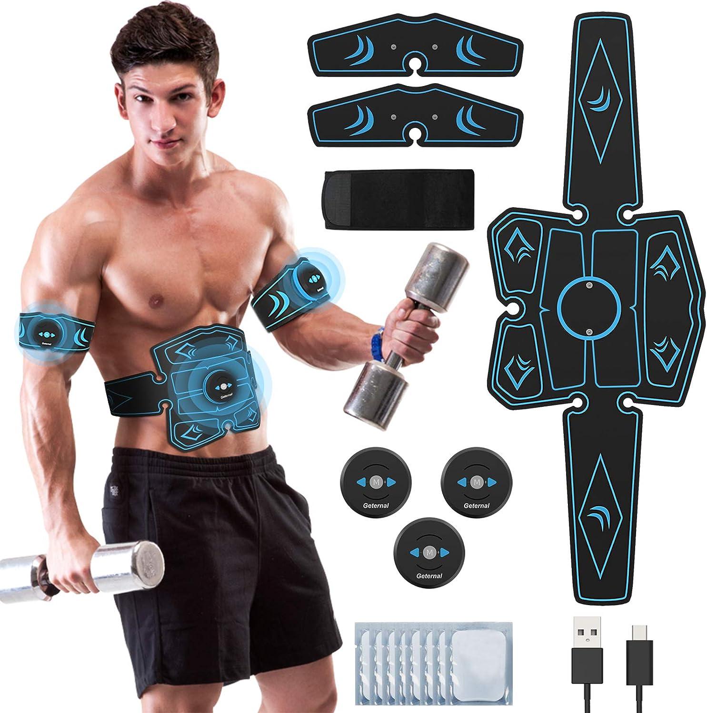 EMS Drahtloser Muskelstimulationstrainer Smart Fitness Bauchtraining Elektrisch