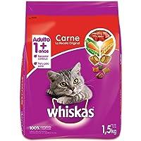 Whiskas Comida para Gatitos, Carne Receta Original, 1.5 kg