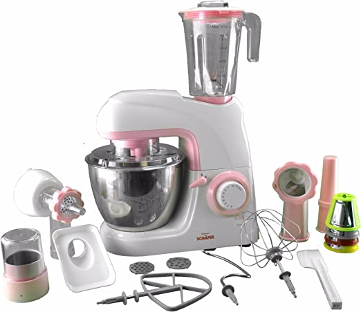 luxuriöse Robot de cocina 3 en 1 con batidora, – Amasadora y ...