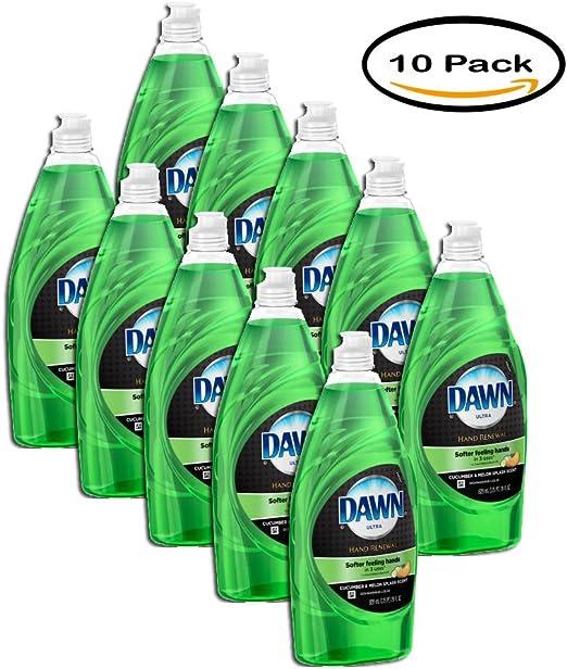 Pack de 10 – Dawn mano renovación con Olay lavavajillas líquido ...