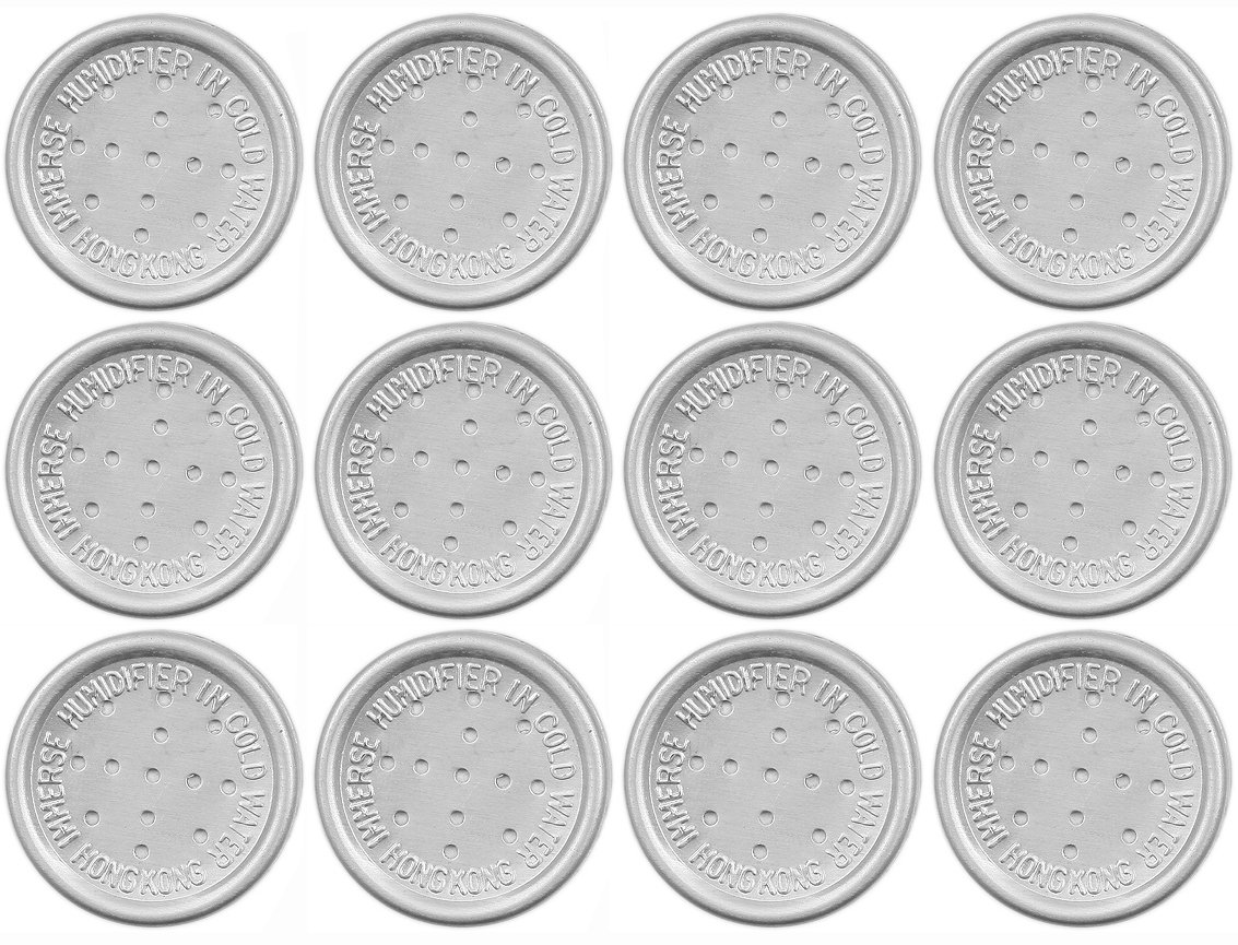 Pipe Herb & Cigar Pouch Humidity Humidor Moistener Button Disc Pod 1044 (12)