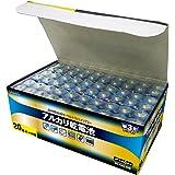 LAZOS 単3アルカリ乾電池60本セット(20本入×3パック) B-LA-T3X20