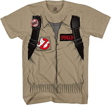 Ghostbuster STANTZ Adult Short Sleeve Costume T-shirt with Back Print