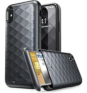 100% authentic cb800 eeb5f Amazon.com: iPhone X Wallet Case,Cheeringary iPhone 10 Credit Card ...