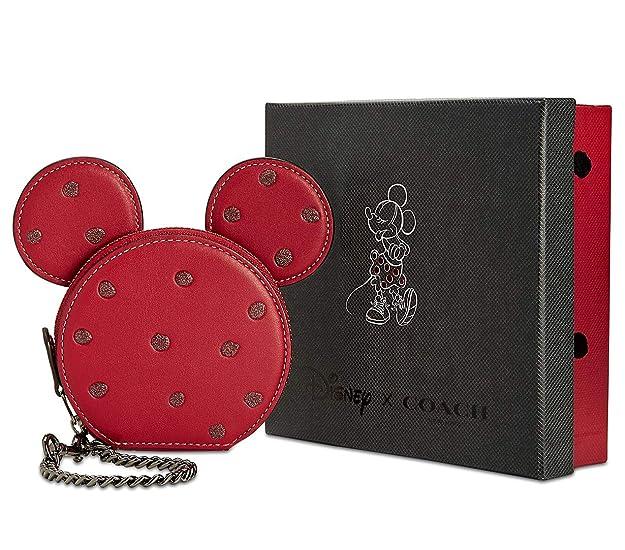 Amazon.com: COACH - Monedero para mujer, diseño de Minnie ...
