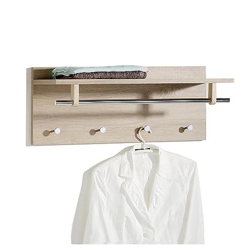 garderobe eiche. Black Bedroom Furniture Sets. Home Design Ideas