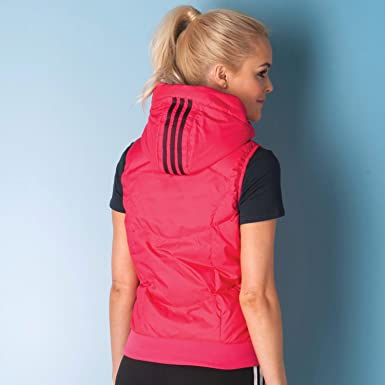 3a86231dc6c64e adidas Womens Womens Gilet in Pink - 8-10  adidas  Amazon.co.uk ...