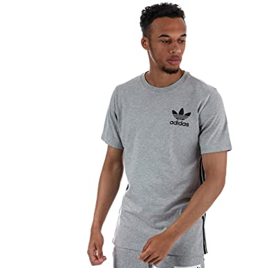 eac7c054505 adidas Originals Mens Mens Longline T-Shirt in Grey - S: adidas Originals:  Amazon.co.uk: Clothing