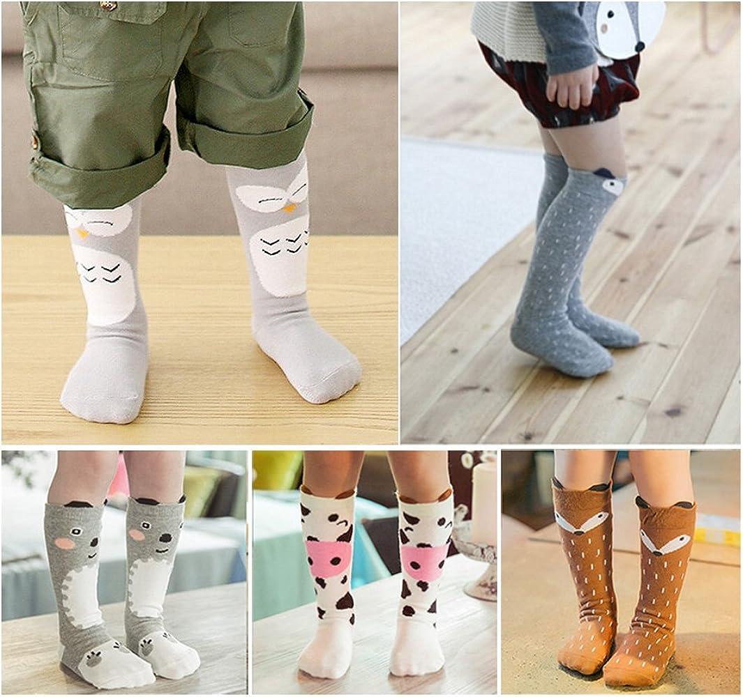 High Elasticity Girl Cotton Knee High Socks Uniform Morning Cattle Women Tube Socks