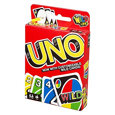 Classic Card Game-UNO Card Game: Toys & Games