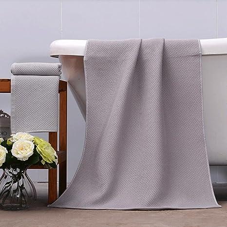 ZLR Traje de toalla de baño de hilado de algodón puro Elegante Toalla de baño de ...