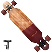APOLLO Longboard Skateboards - Premium Long Boards for Adults, Teens and Kids. Cruiser Long Board Skateboard. Drop…