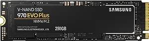 Samsung 970 EVO Plus 250GB NVMe 1.3 M.2 (2280) 3-Bit V-NAND SSD - MZ-V7S250BW