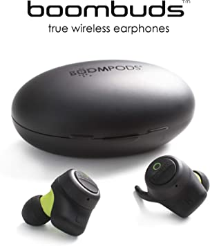 Amazon Com Boompods Boombuds True Wireless Earbuds Best Sports Headphones Bluetooth Magnetic Charging Case Water Sweat Resistant Ipx 4 Instant Connect Tws Home Audio Theater