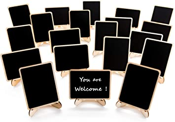 """Table Wood Display Easel 12 pcs X 6/"""" Event Wedding Place Name Holder Menu Board"""