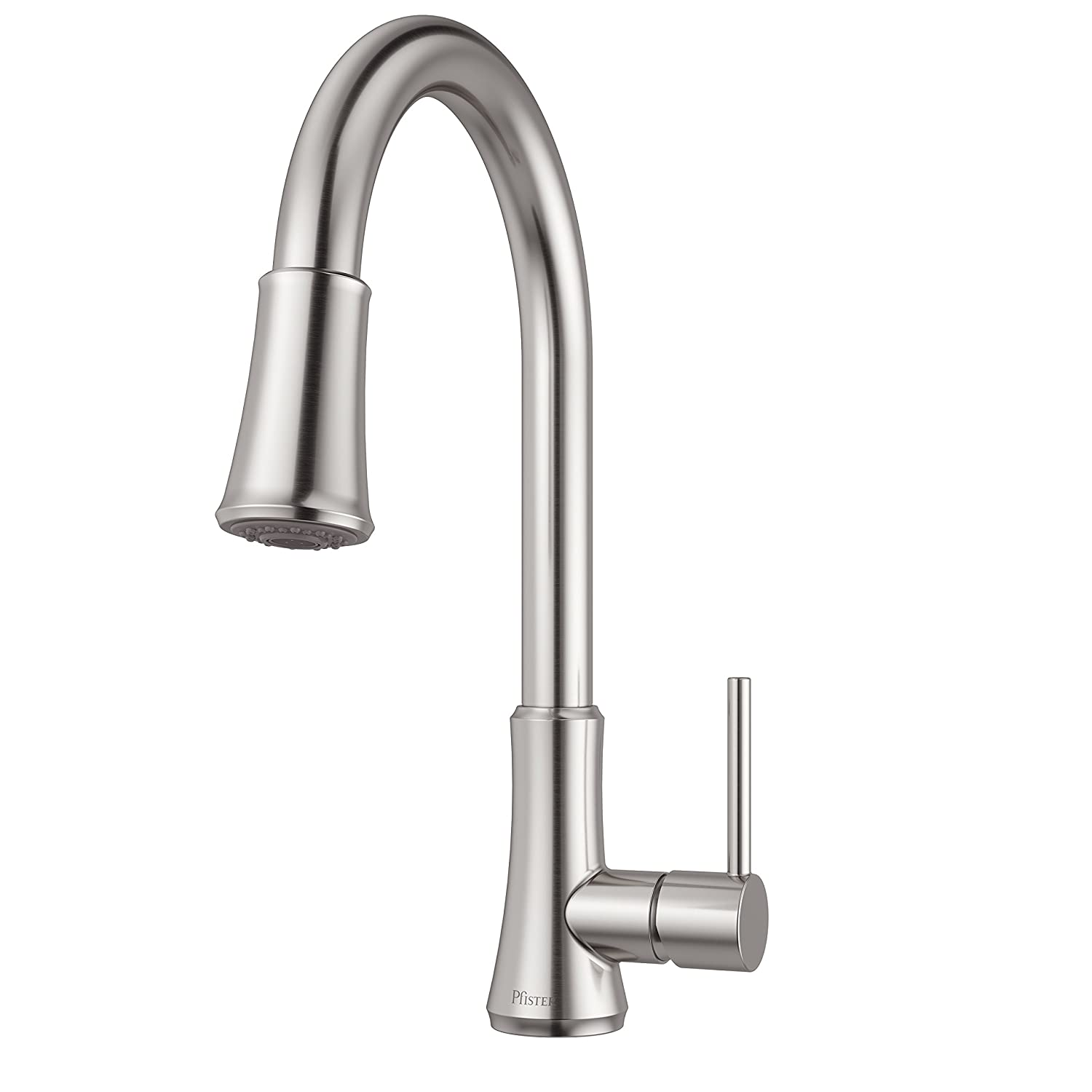 Pfister G529pf1s Pfirst Series Single Handle Pull Down Kitchen Parts Diagram For Gourmet Faucet 150 450 In Stainless Steel Water Efficient Model