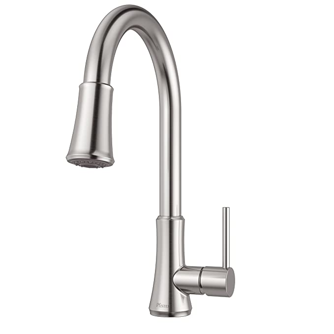 Pfister Faucet Reviews: Pfister G529-PF1S Pfirst High-arc Kitchen Faucet