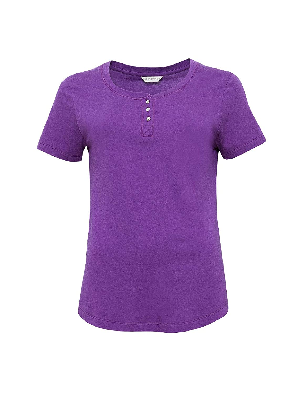 Cyberjammies 4100 Womens Andrea Purple Pyjama Top