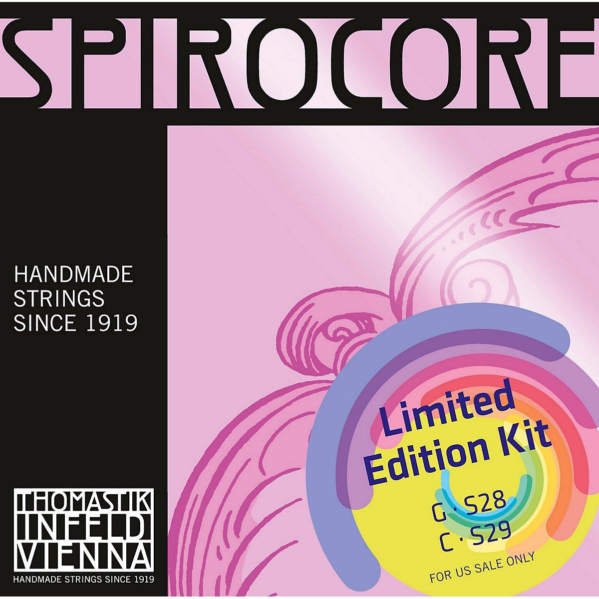 Thomastik Spirocore Cello Chrome G& C Value Pack