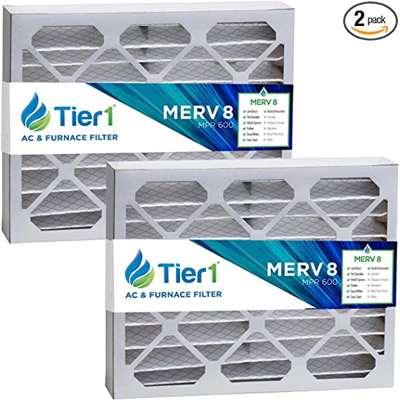 Tier1 21x27x5 Merv 8 Replacement For Trane Flr06070 Bayftr21m Air Filter 2 Pack Air Purifiers Amazon Com