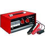 Einhell Batterie-Ladegerät CC-BC 30 (für Batterien von 3 bis 400 Ah, Ladespannung wählbar 6 V/12 V/24 V, Volt- und Amperemeter, Fernstartkabel, Tragegriff)
