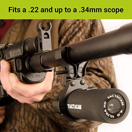 TACTACAM Under Scope Rail Mount for Crossbow for 4.0 3.0 and SoloPRM-UMS