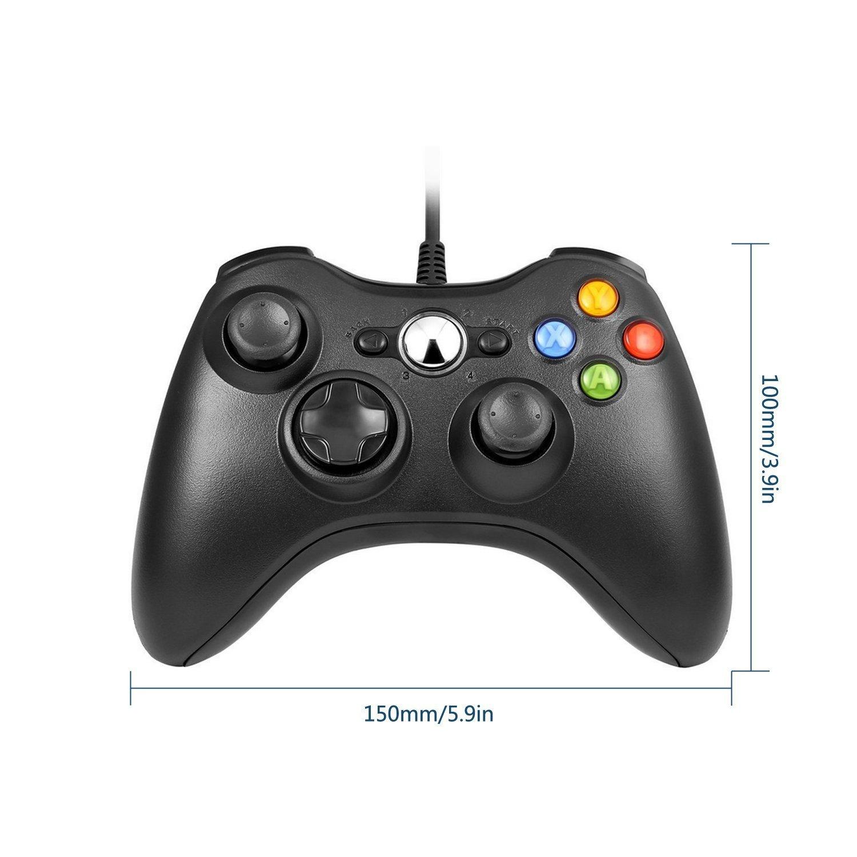 Wired Xbox 360 Controller Disconnects Randomly Pc: Amazon.com: Xbox 360 Wired ControllerYudeg Wired USB Game rh:amazon.com,Design