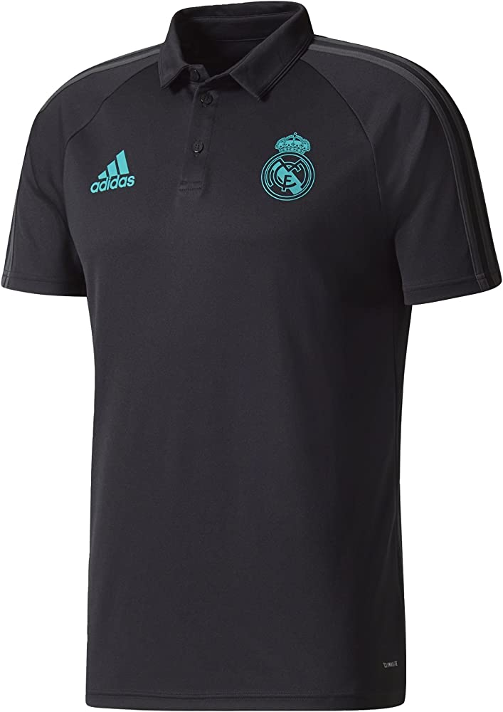 adidas BQ7812 Polo Real Madrid, Hombre, Negro, 2XL: Amazon.es ...