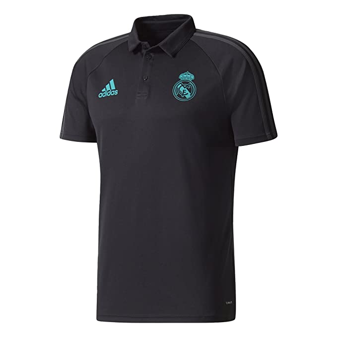 adidas BQ7812 Polo Real Madrid, Hombre, Negro, 2XL: Amazon.es ...