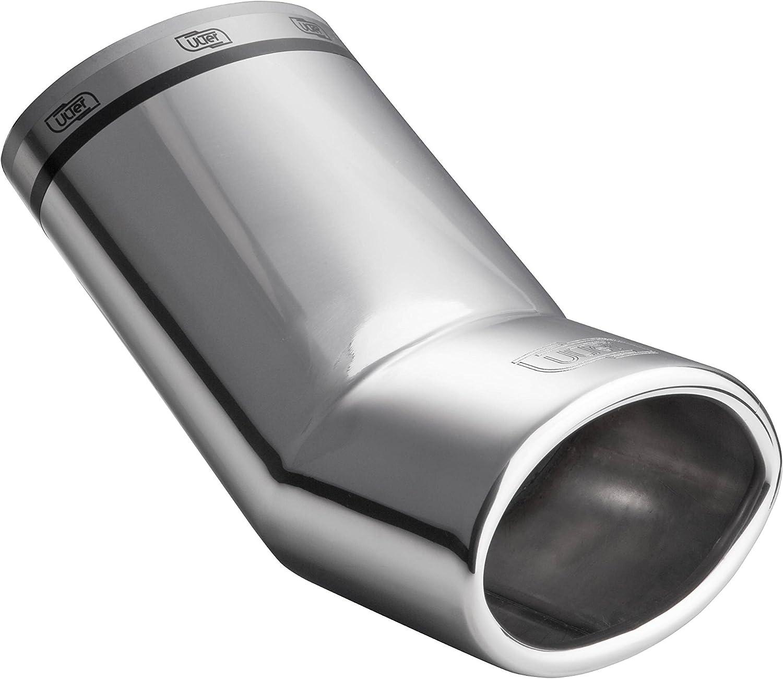 Terminal de tubo de escape deportivo Cartuner NX10.27 Focus 2 acero inoxidable ovalado 95 x 65 mm