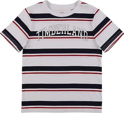 Timberland Camiseta de algodón orgánico NIÑO: Amazon.es: Ropa y ...