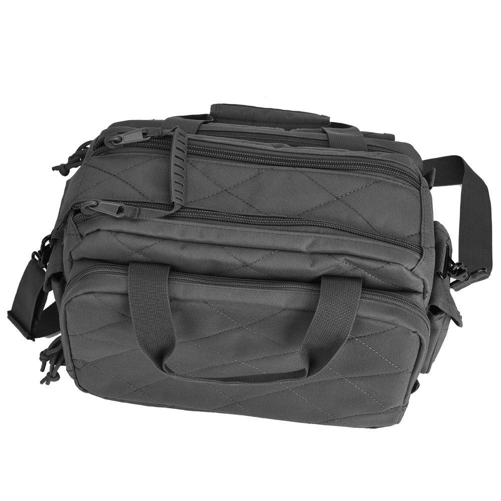 REEBOW TACTICAL Tactical Gun Range Bag Deluxe Pistol Shooting Range Duffle Bags Black by REEBOW TACTICAL (Image #6)