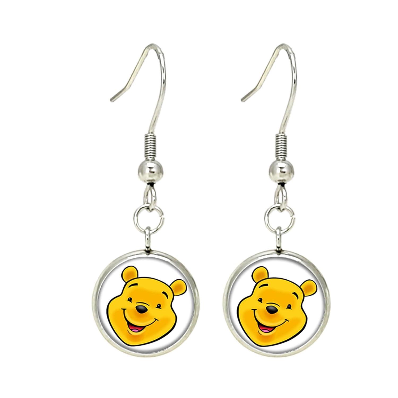7f13ad7e8e787 Amazon.com: Winnie the Pooh Fashion Novelty Dangle Earrings Movie ...